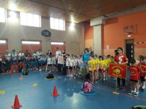 Районные соревнования по спортивным подвижным играм 15.02.2017